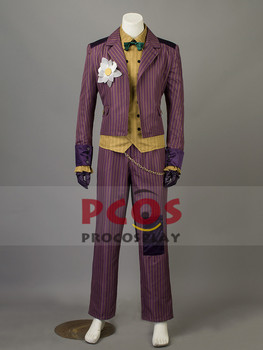 Batman: Arkham Asylum Joker Cosplay Kostüm mp003438